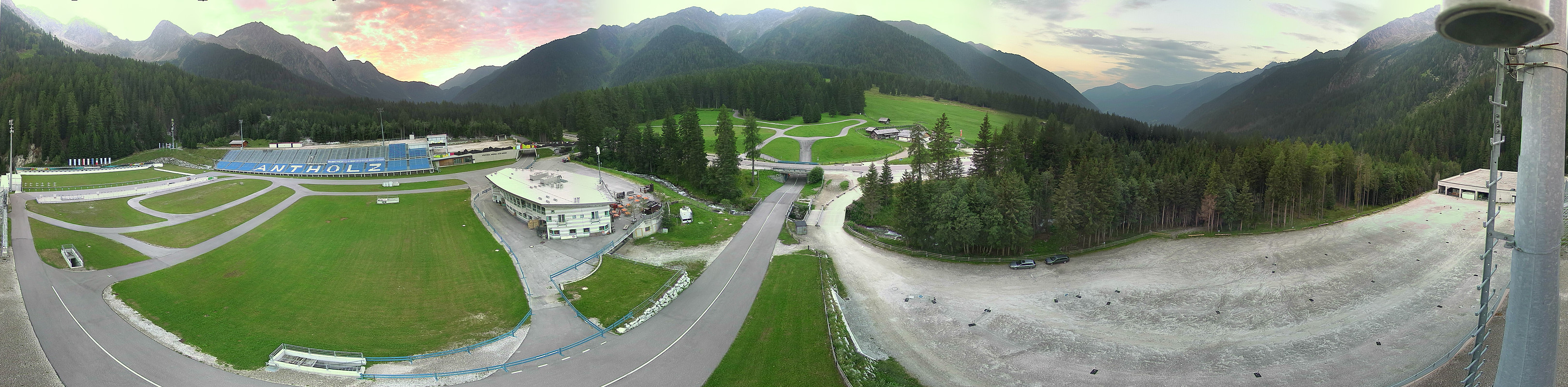 Valle Anterselva Centro Biathlon