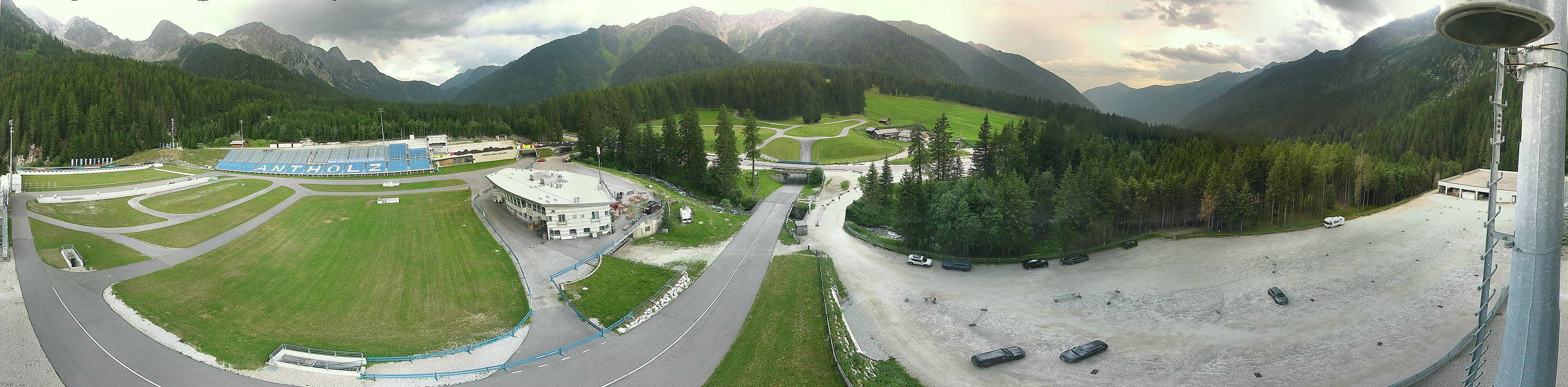 Panoramakamera Biathlon Antholz
